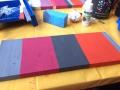 Kreidefarben bemalen von Möbeln