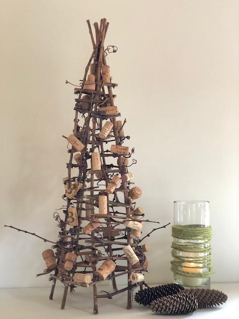 DIY-Weihnachtsbaum mit Korken