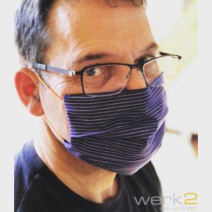 Handmade Maske Design Winzerstoff werk2
