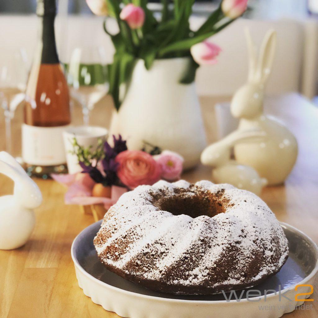 Tischdekoration aus Eierschalen für Ostern